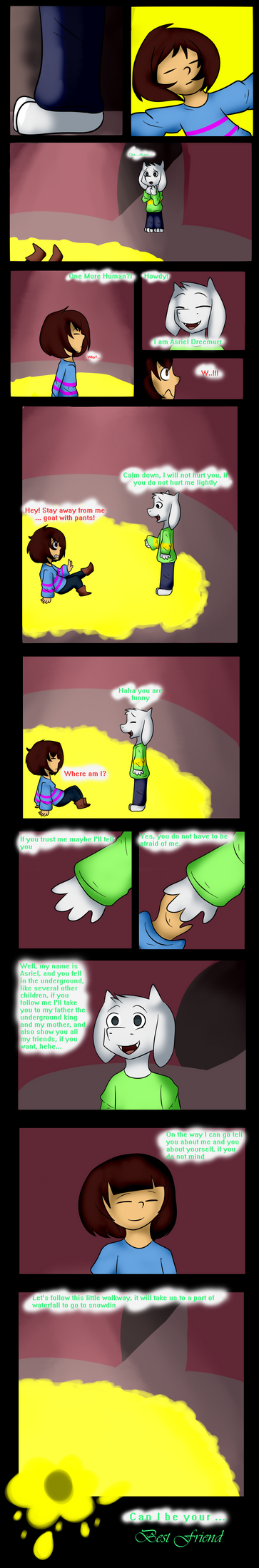 Page 1 kimochi tale - the new...Friend by MariMey