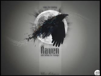 croaking Raven by Jestersdream