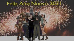 Diseno Ano Nuevo 2021