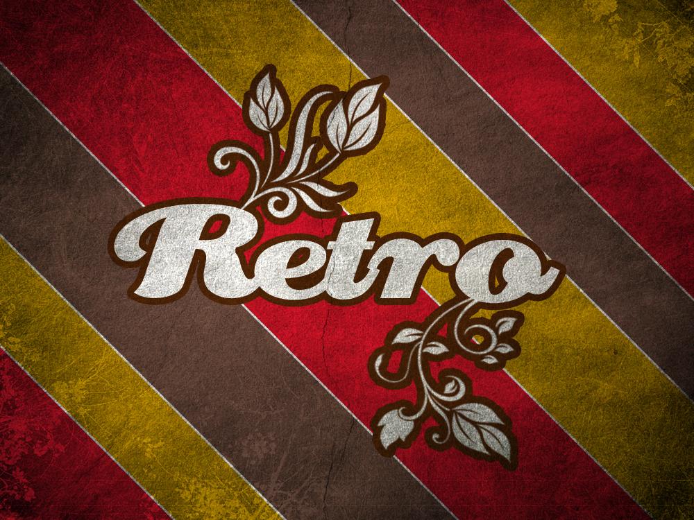 Retro poster by simlik