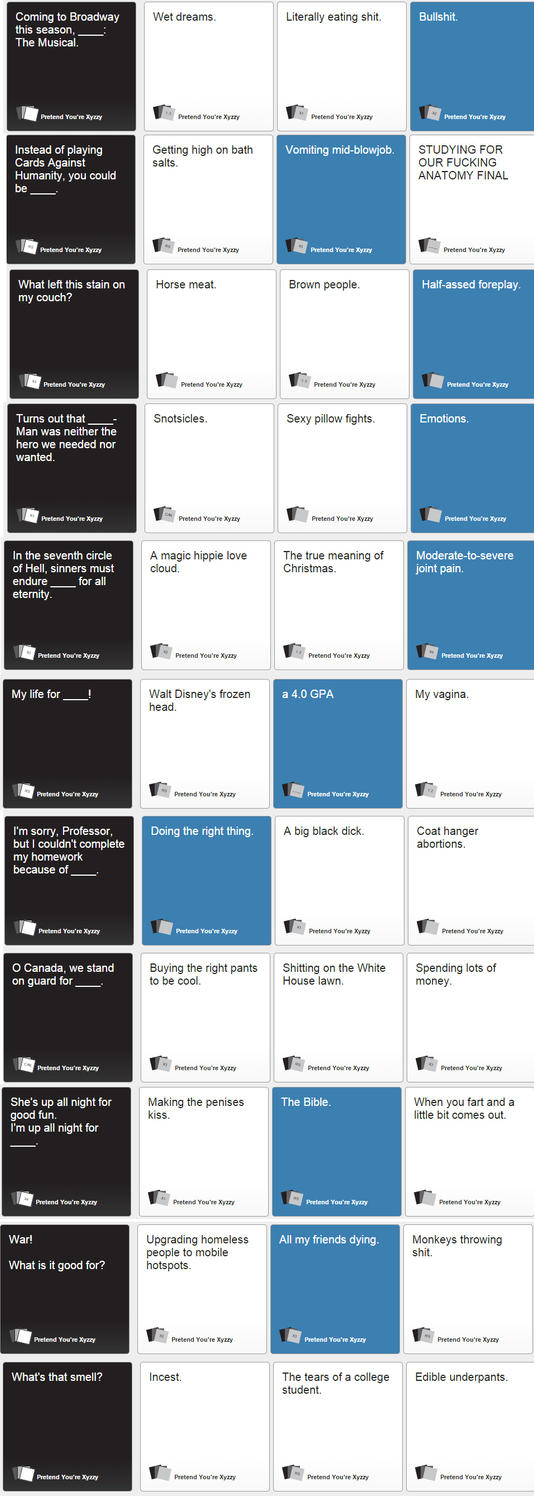 Nerds Against Humanity by CassidyCoyote