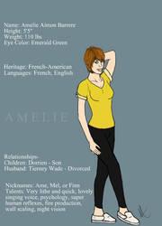 Amelie Character Description
