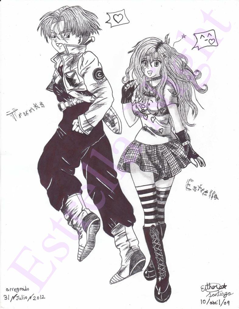 Trunks and Estrella 6 by Estrella-Night