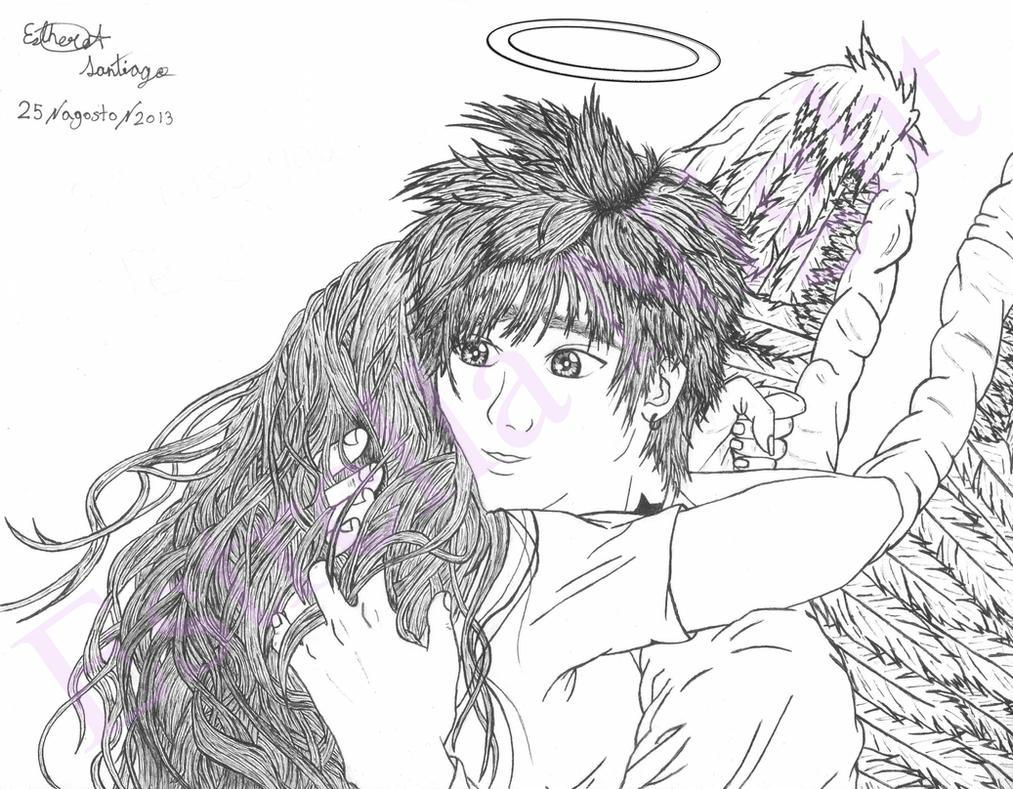 I miss you... by Estrella-Night