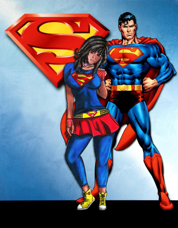 Superman and Me!!! by Estrella-Night