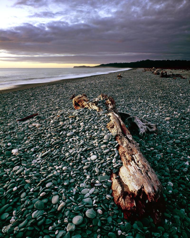 Gillespies Beach Sunset II by saxtim