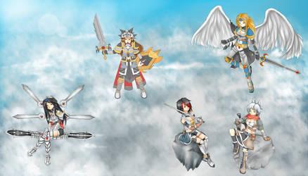 League of Legends - Sword Women