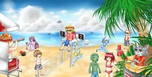 League of Legends - Beach Time by human-failure