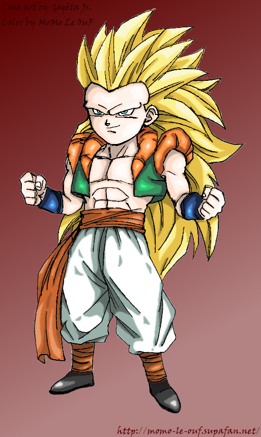 Gotenks super saiyan 3 DBZ by MoMo-Le-OuF on DeviantArt