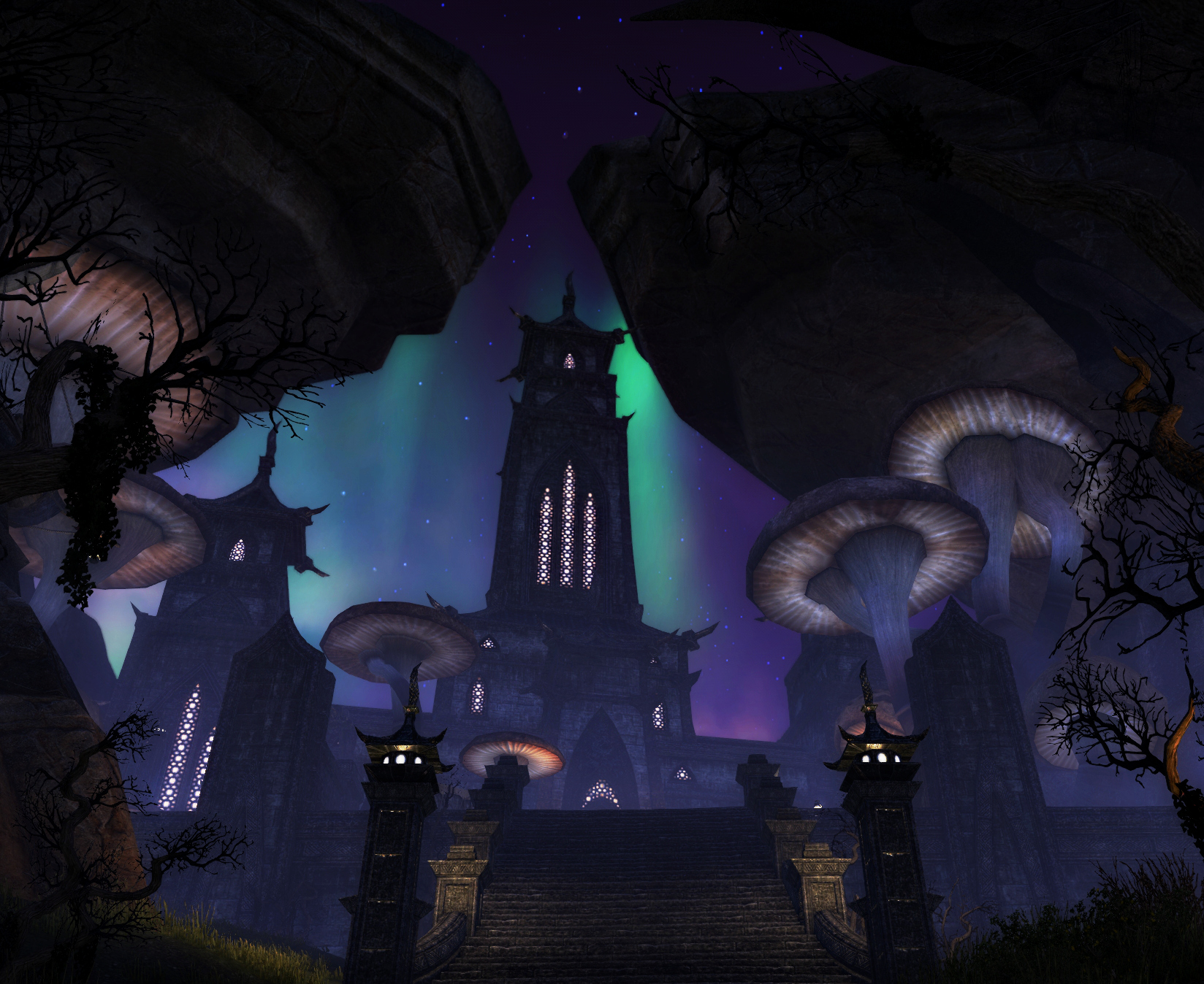 Shivering Isles - Chateau of the Ravenous Rodent by BinaryReflex