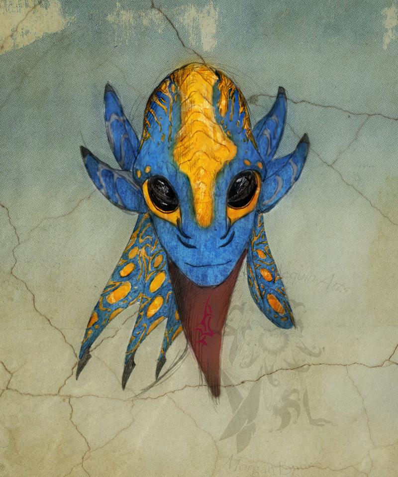 Alien Species: Hroran by BinaryReflex
