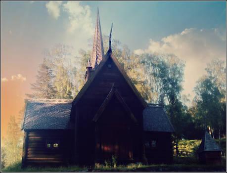 Garmo Stave Church by BinaryReflex