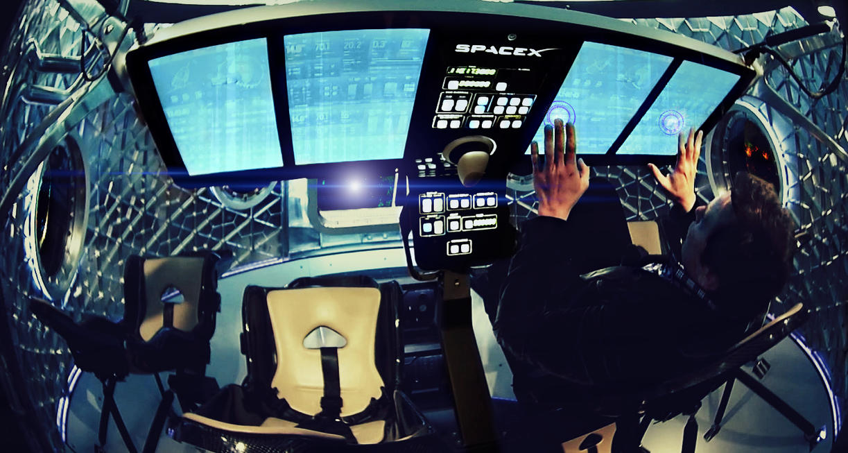 sci fi spacecraft cockpit single person - photo #16