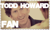 Todd Howard Fan Stamp by BinaryReflex