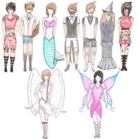 +Costume Design+ by The-Whiteless
