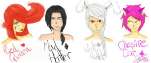 .: The Pokker Leaders SKETCH:. by The-Whiteless