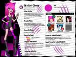 +Monster High OC+ Skyller Chess by The-Whiteless