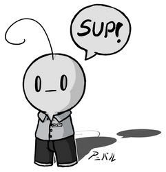 Sup guy by Hiswa
