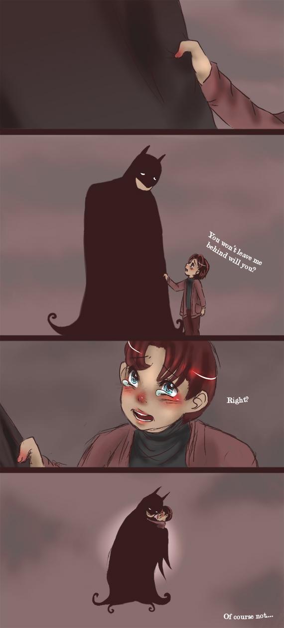 Comic - Batman and Robin tears by yolin