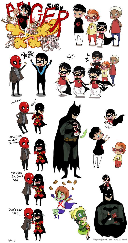 Doodles - Batman 4 by yolin
