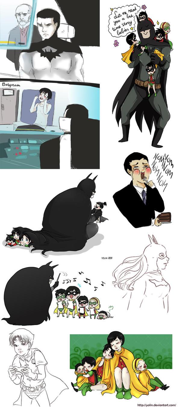 Doodles - Batman 6 by yolin
