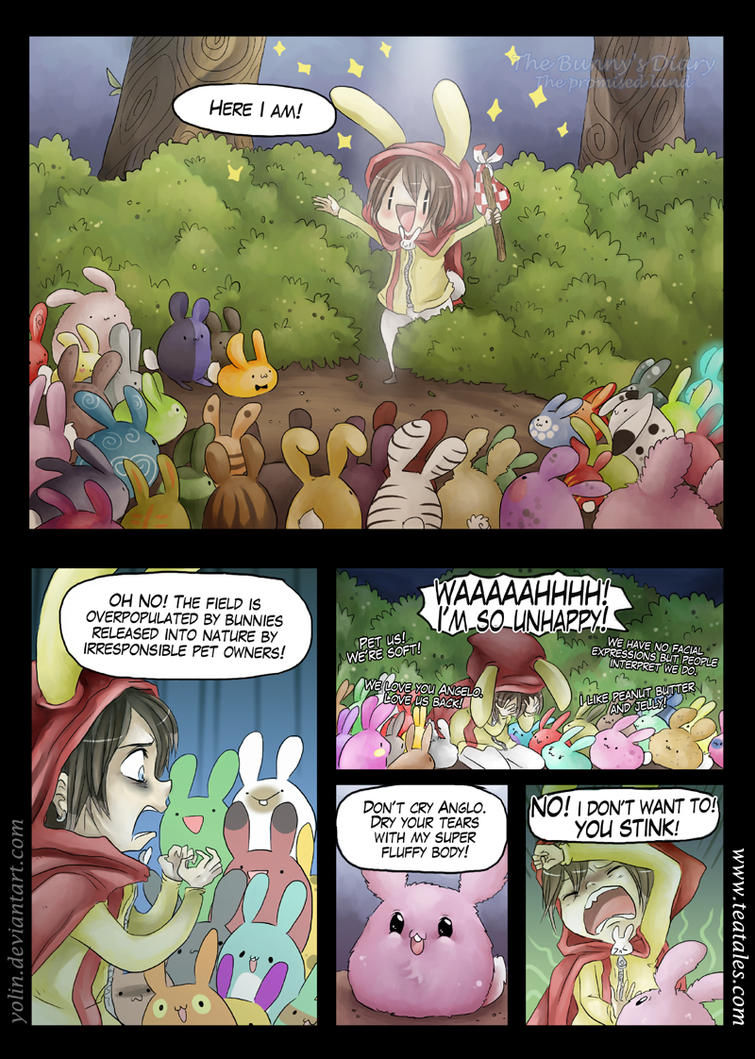 The Bunny's Diary / The Promised Land / page 4 by yolin