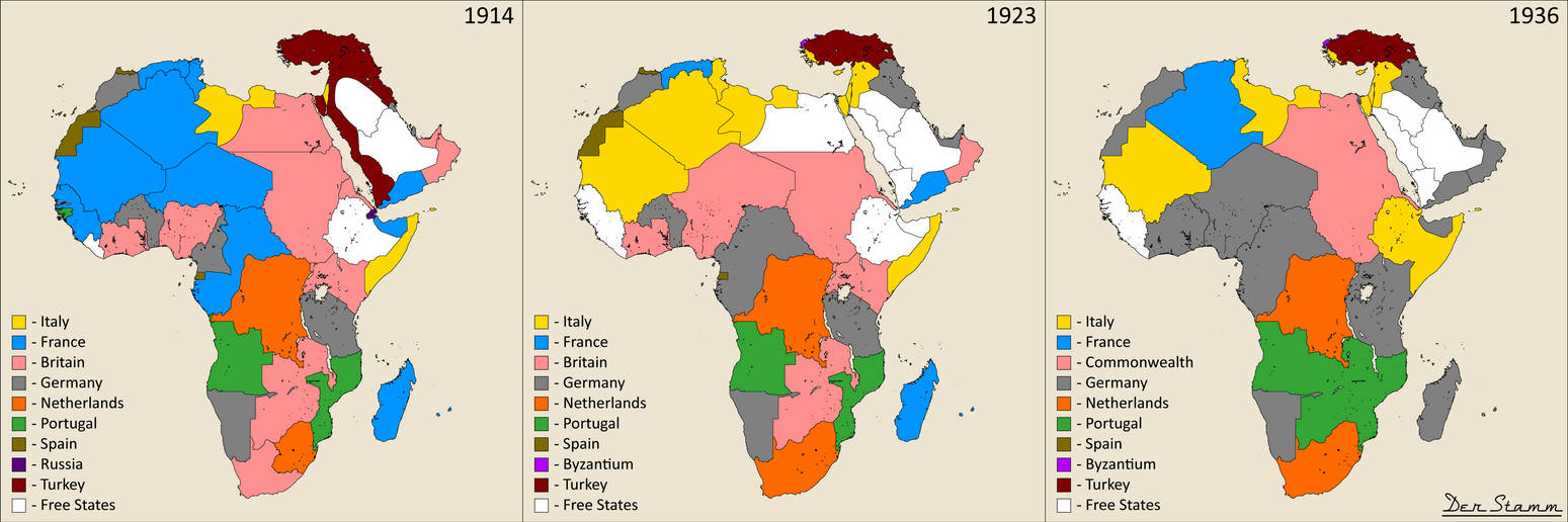 Africa, Arabia and Anatolia ('Der Stamm' project) by ... on map of africa 1960, map of africa and italy, map of africa 1940, map of africa 1955, map of africa today, map of africa 2014, map of africa east ethiopia, map of africa with kenya highlighted, map of africa 1941,