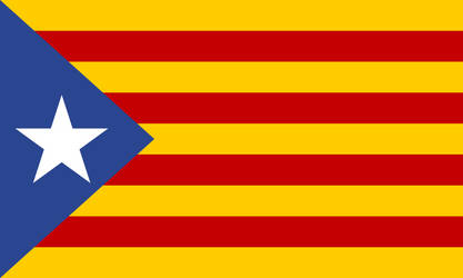 Flag of the Catalonia