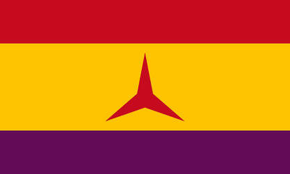 Flag of the Communist Spain by DemianShab