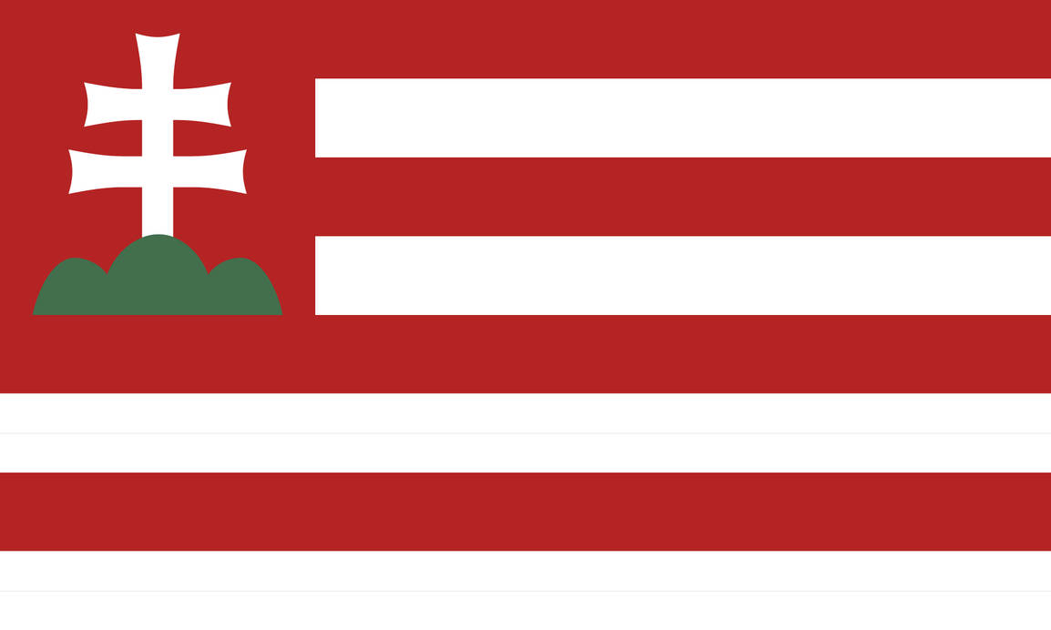 Americanised Flag of Hungary by DemianShab