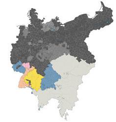 Alternative Norddeutscher Bund + southern states