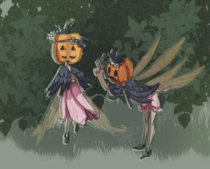 Garden Fairies (sketch)