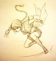 Day 41: Rurouni Kenshin- Misao by shortpinay