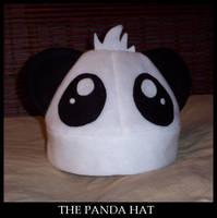 The Panda Hat by shortpinay