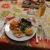 Daughter cooked fantastic Thanksgiving dinner