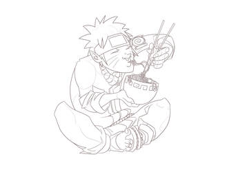 Naruto like Noodles - lines by Louieville-XXIII