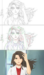 FRAME PER SECOND STEP BY STEP ANIME COLOURING by mehliseaughn7