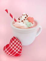 Valentine's Day Red Velvet Hot Chocolate by TreeseRB