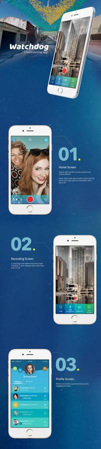 Live-streaming mobile app