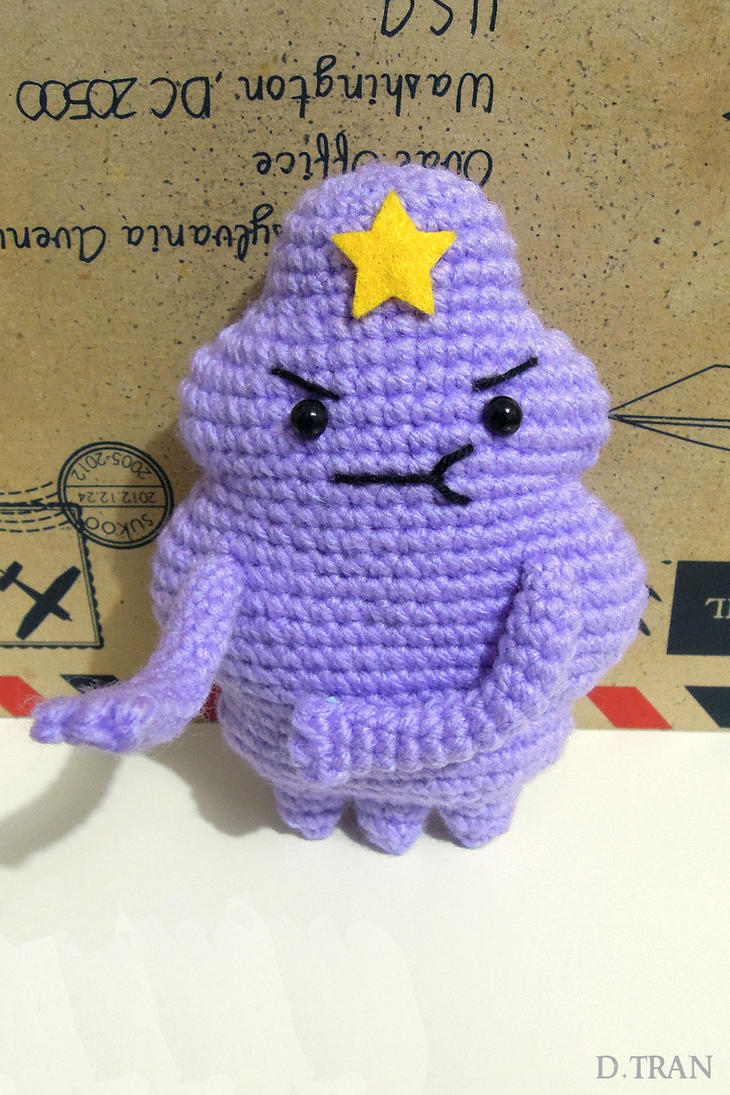 Lumpy Space Princess Amigurumi by yimtea on DeviantArt