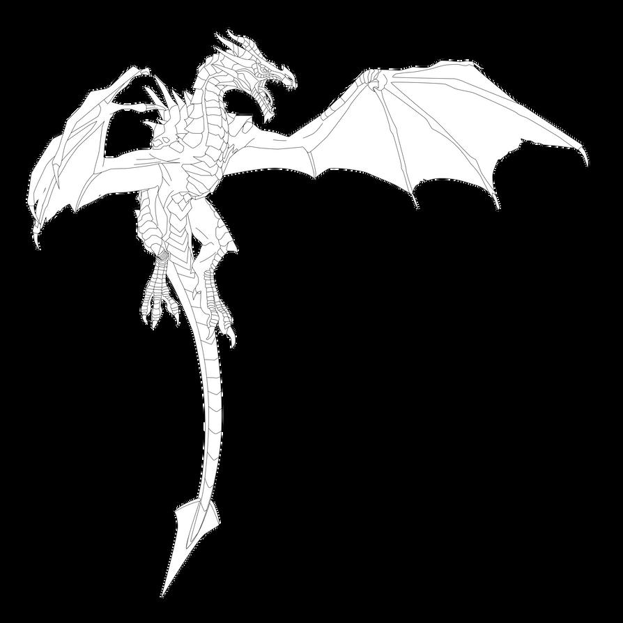 Skyrim Dragon By Erilmadith-Everyoung On DeviantArt