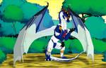 Fantasy Braves Art - After the Transformation