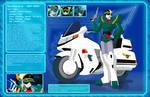 Brave Police Character Profiles - Gunmax