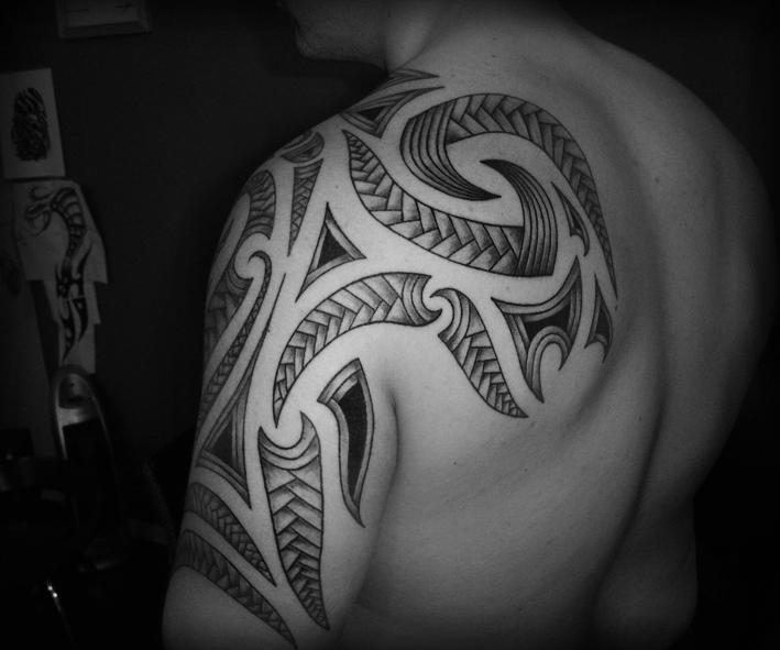 Maori Tattoo Design Wallpaper Wp300369: Maori Tribal I By Ravenwarlock On DeviantArt