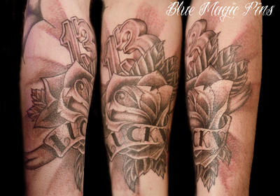 Lucky 13 Tattoo by ravenwarlock on DeviantArt