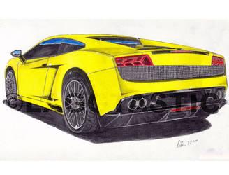 Lamborghini Gallardo_FINISHED_ by Laggtastic