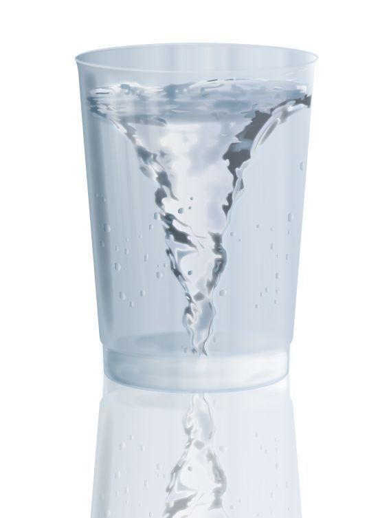 Water Tornado Finish