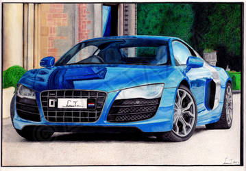 2009 Audi R8_FINISHED by Laggtastic