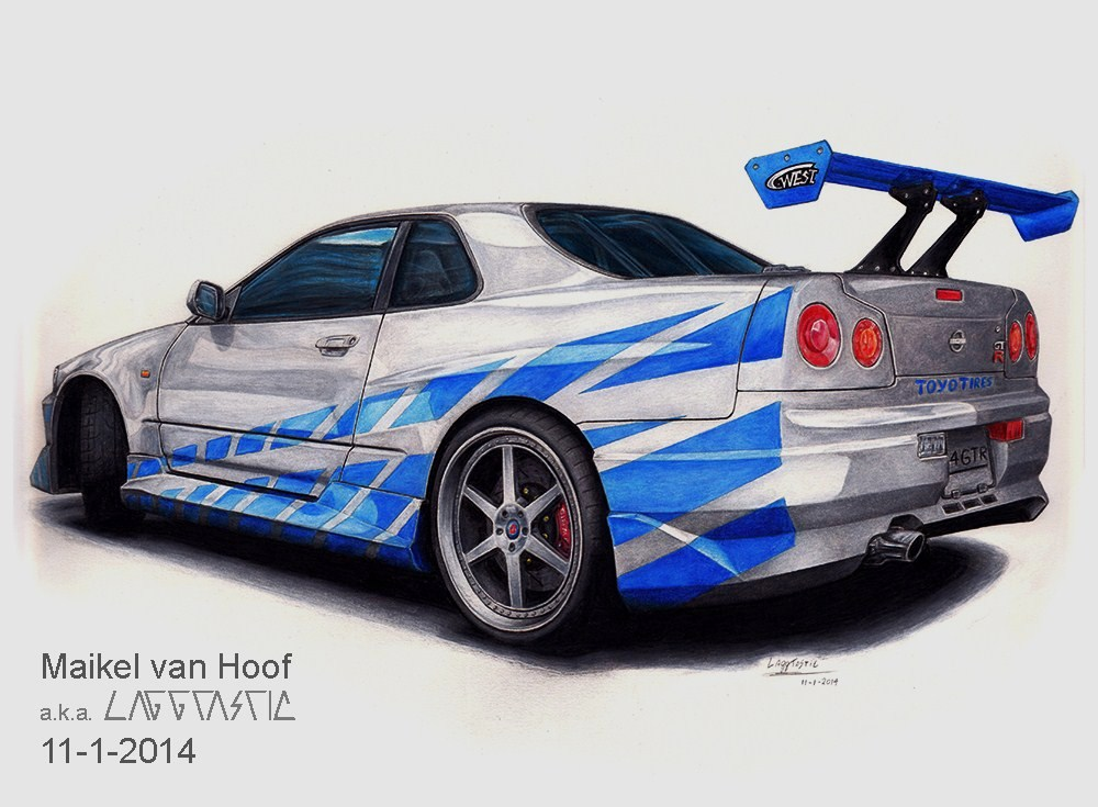 Nissan Skyline Paul Walker Tribute_Final + VIDEO! by Laggtastic