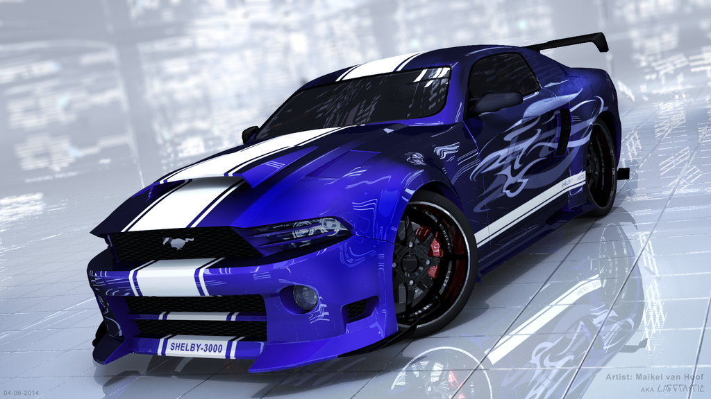 Customized Mustang >> Customized Ford Mustang 3D model by Laggtastic on DeviantArt
